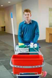 Commercial janitorial services in Edmonton