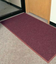 Floor mat rental service